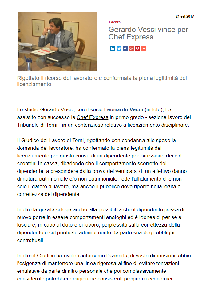 TOP LEGALE CHEF EXPRESS 21.09