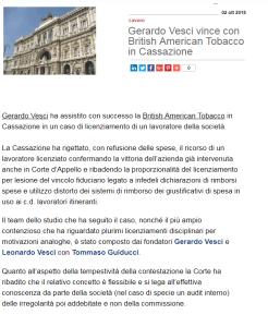 articolo British american