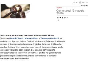 VESCI..ITALIANA COSTRUZIONI